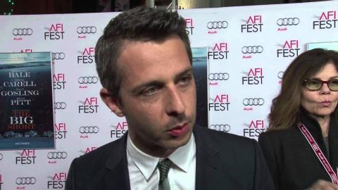 "The Big Short: Jeremy Strong ""Vinny Daniel"" AFI Red Carpet Premiere Interview"