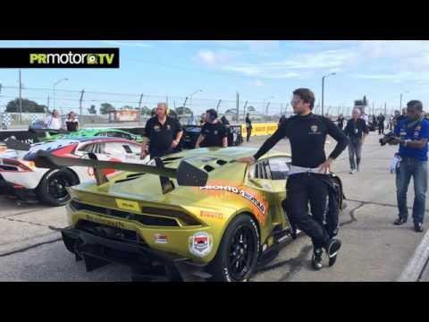 Primera Carrera - Primer Podio! Isaac Tutumlu Lamborghini Super Trofeo en Sebring 2015 by PRMotor TV