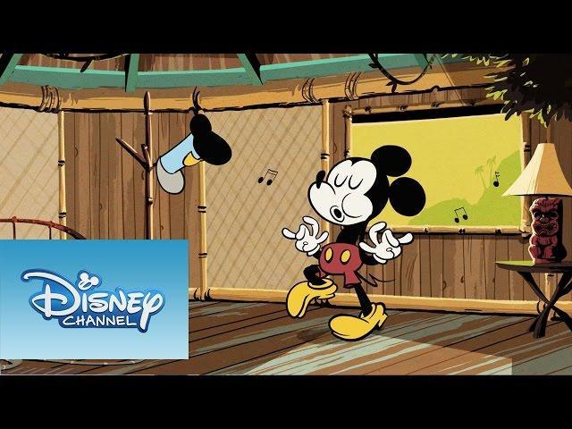 Mickey Mouse: Mickey, el mono
