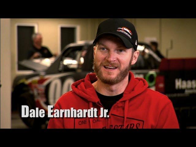 Dale Earnhardt Jr. Talks Trucks and Cole Custer - 2015 NASCAR Camping World Truck Series