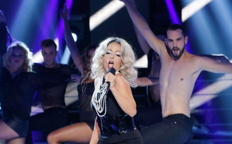 Ruth Lorenzo es Lady Gaga en 'Tu cara me suena'