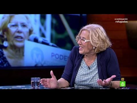 Manuela Carmena promete sentarse a dialogar con Esperanza Aguirre