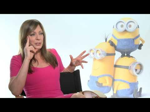 """Minions: Allison Janney """"Madge Nelson"""" Official Movie Interview"""