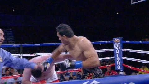 Giant boxer Taishan delivers brutal KO to opponent