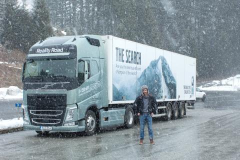 Volvo Trucks - Firetrucks and ice in Austria - Drivers' Fuel Challenge