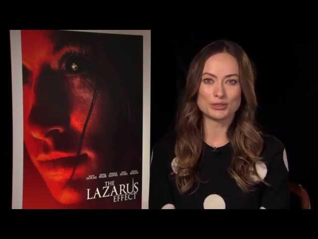 """The Lazarus Effect: Olivia Wilde """"Zoe"""" Official Movie Interview"""