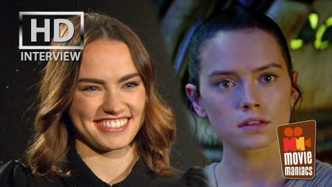 Star Wars The Force Awakens - Daisy Ridley exclusive interview (2015)