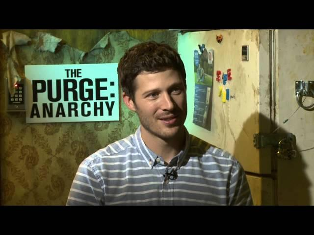 The Purge Anarchy: Zach Gilford Official Movie Interview