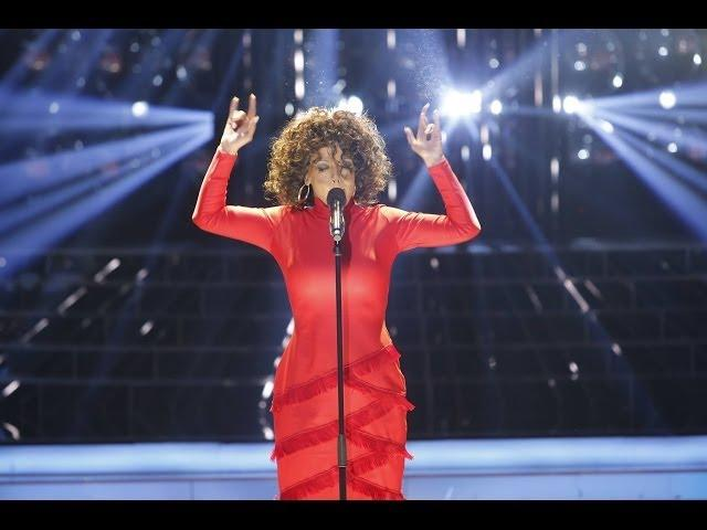 Tu cara me suena - Ruth Lorenzo imita a Whitney Houston