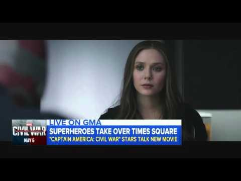 Captain America: Civil War: Scarlet Witch and Vision Movie Clip - Elizabeth Olsen