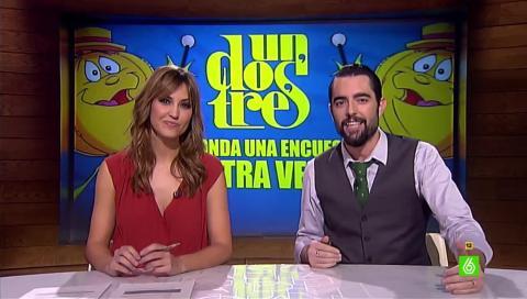 Sandra Sabatés y Dani Mateo comentan las encuestas previas a las elecciones