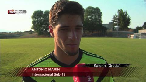 Comienza el trabajo en Katerini para la Sub 19
