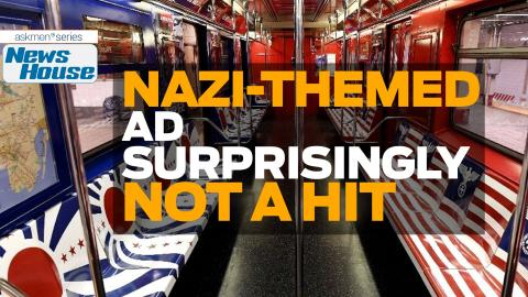 Nazi-Themed Subway Ads Not A Hit In New York | News House