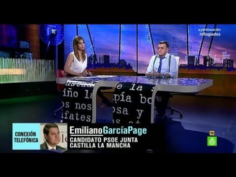 """Emiliano García-Page: """"Cospedal ha sido víctima de sí misma"""""""