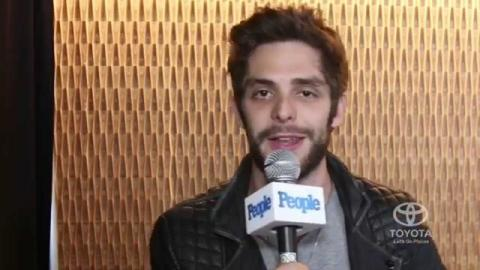 Thomas Rhett Fanboys Over Garth Brooks: 'It's Nice to Know That Your Idol Is Cool | People Now