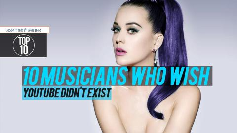 Top 10 Musicians Who Wish YouTube Didn't Exist | Top 10