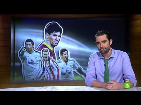 Dani Mateo ironiza sobre la vida de los futbolistas en 'El Intermedio'