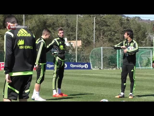 Gerard Deulofeu, capitán feliz en la Selección española Sub-21