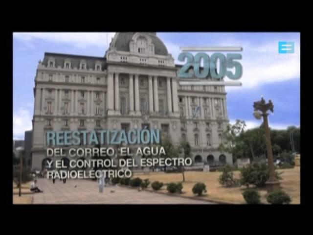30 años de democracia: Presidencia Néstor Kirchner - Canal Encuentro