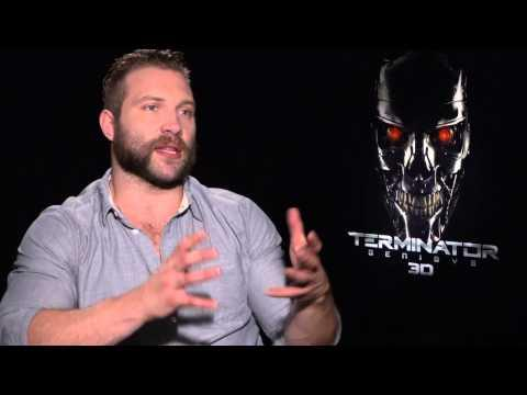 """Terminator: Genisys: Jai Courtney """"Kyle Reese"""" Official Movie Interview"""