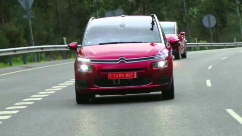 De Vigo a Madrid en conducción autónoma con un Citroën Grand C4 Picasso