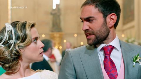 El 'sí, quiero' de Iñaki y Carmen con final inesperado - Allí abajo
