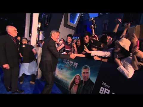 Tomorrowland: Shanghai Red Carpet Movie Premiere - George Clooney