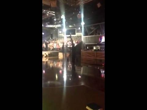 TBN Salsa Behind the scenes