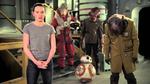 Star Wars: Happy May the 4th from Daisy Ridley & BB-8