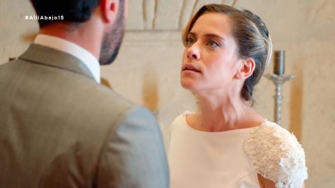 """Carmen cancela la boda: """"No me puedo casar por una confusión"""" - Allí abajo"""