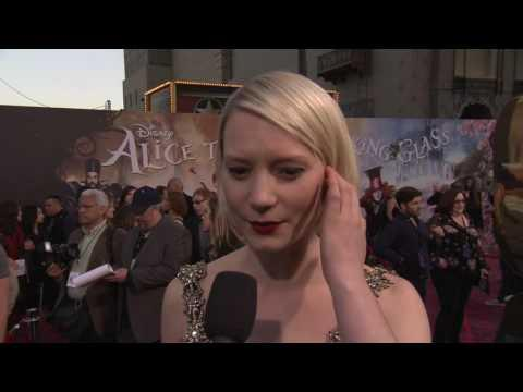 """Alice Through the Looking Glass: Mia Wasikowska """"Alice Kingsleigh"""" US Premiere Interview"""