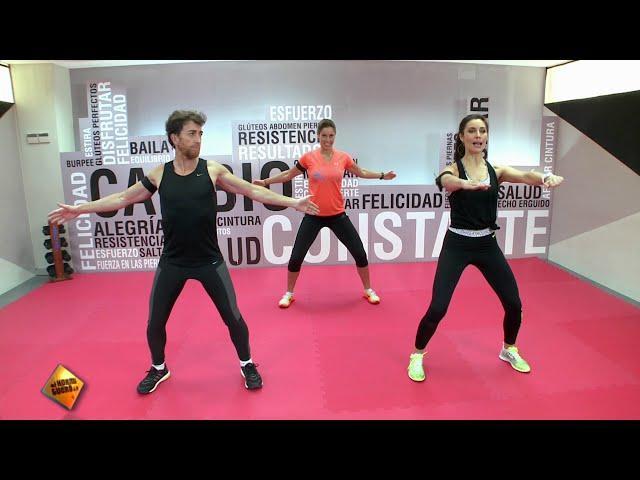Planchas para entrenar el core en Cambio Constante con Pilar Rubio