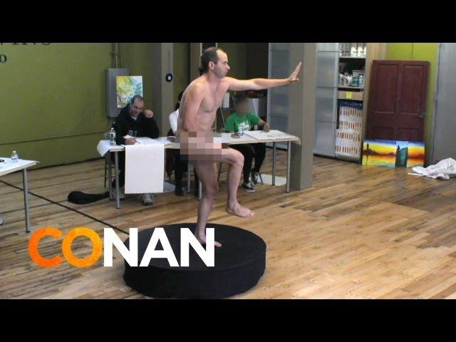 The Impractical Jokers' Unsexy Nude Modeling Prank