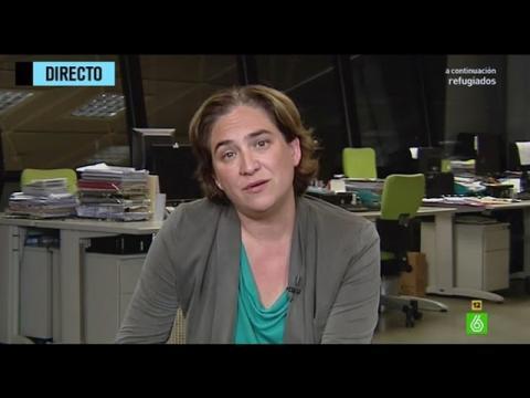 """Ada Colau: """"El plan de choque que proponemos es ambicioso pero viable"""""""