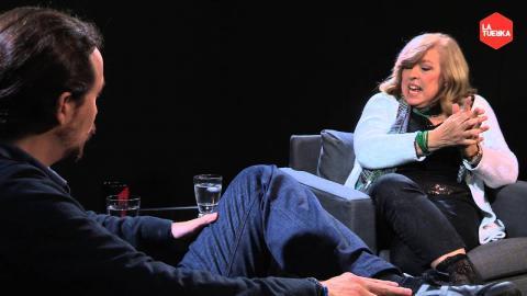 Otra Vuelta de Tuerka - Pablo Iglesias con Rosa María Artal