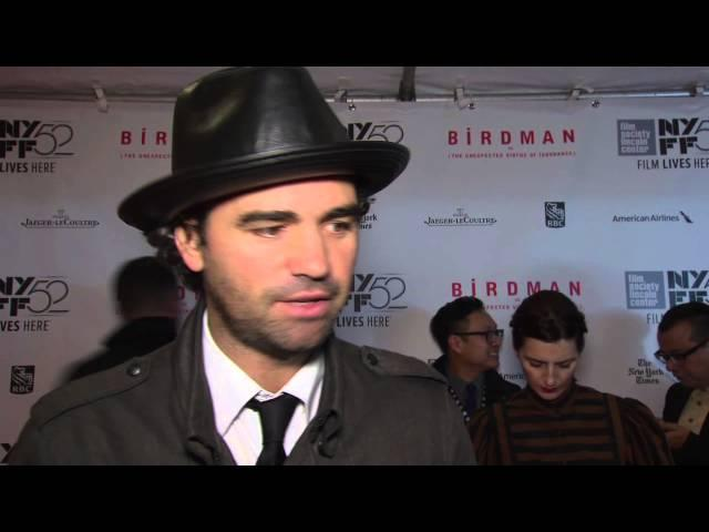 Birdman: Writer Armando Bo New York Film Festival Premiere Interview