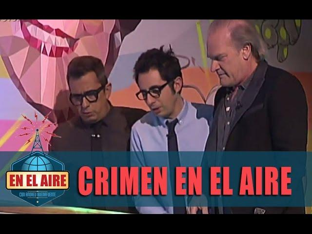 Lluís Homar resuelve el crimen de En el aire con Buenafuente y Berto - En el aire