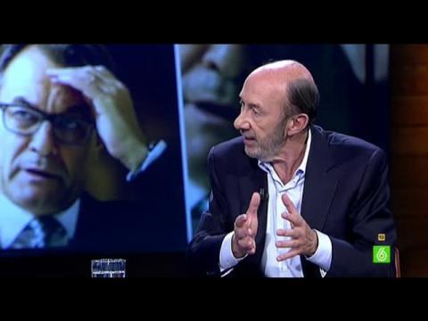 """Alfredo Pérez Rubalcaba: """"Propongo un acuerdo para convivir juntos con una nueva Constitución"""""""