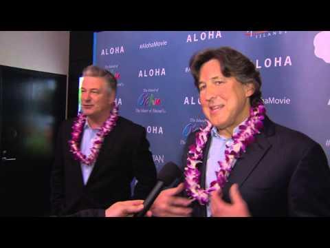 Aloha: Alec Baldwin New York Screening Interview