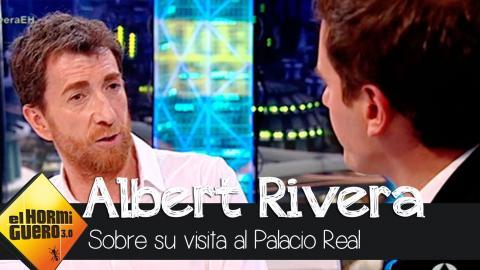 """Rivera: """"Sólo con la forma de andar sabes si alguien se acerca a tí por interés"""" - El Hormiguero 3.0"""