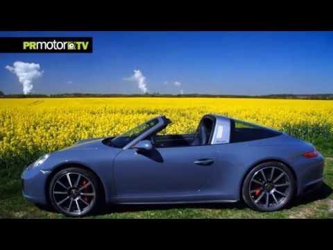 "Porsche 911 Targa 4S (2016)  ""Open Carefully"" Car News TV en PRMotor TV Channel"