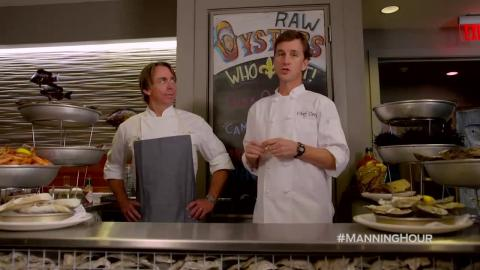 Thanksgiving Dinner...Manning Style with John Besh - 'The Manning Hour'