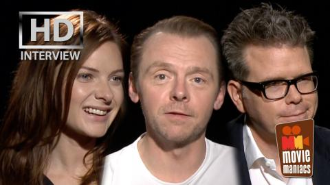 Mission Impossible Talk with Simon Pegg & Co | Rogue Nation Interview