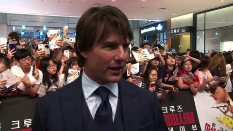 Mission: Impossible: Rogue Nation: Tom Cruise Seoul Premiere Interview