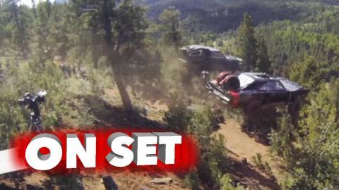 Furious 7: Excluisve Non-Stop Car Stunts Featurette