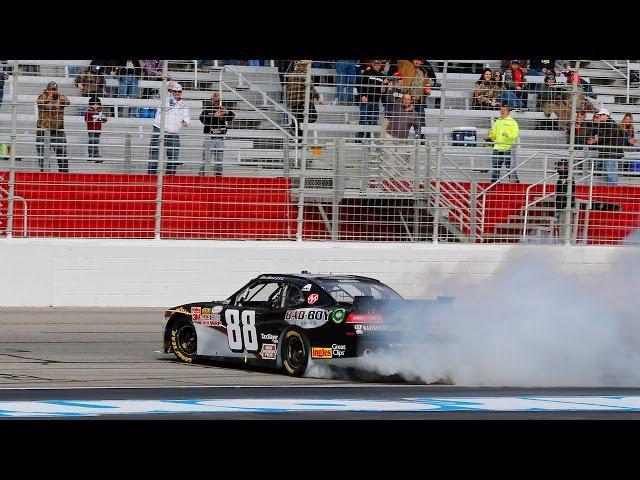 A Dominate Kevin Harvick Gets the Victory - Atlanta - 2015 NASCAR XFINITY Series