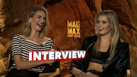 Ma Max: Fury Road: Rosie Huntington and Abby Lee Soundbites