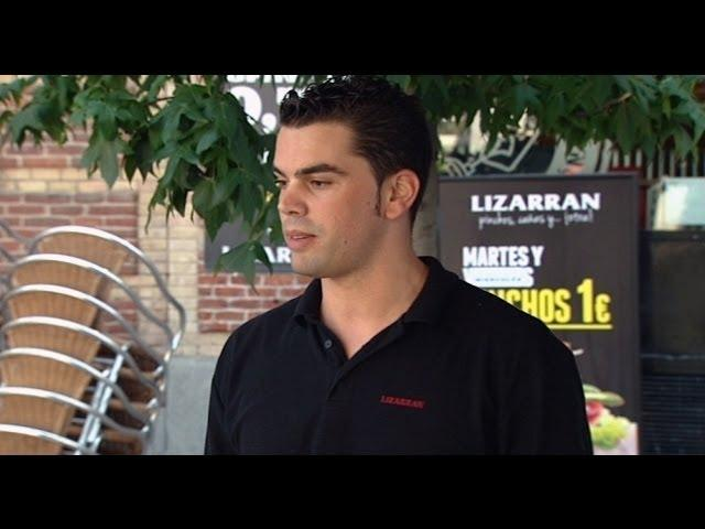 """El jefe infiltrado - Lizarrán: Ismael: """"Yo gente endeble no quiero aquí"""""""