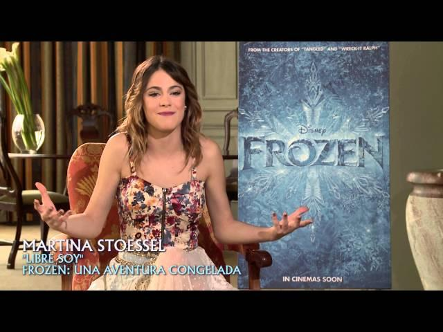 Frozen: Una Aventura Congelada - Martina Stoessel