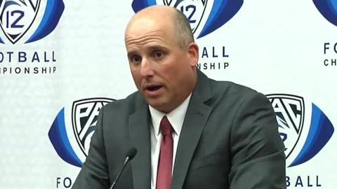 Clay Helton didn't know his phone could vibrate as much as it did the last 7 weeks